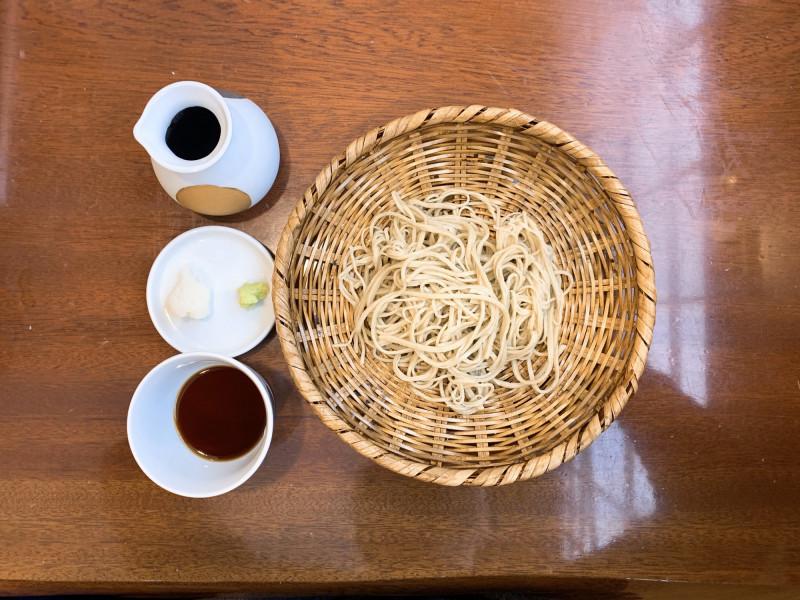 芳とも庵の蕎麦