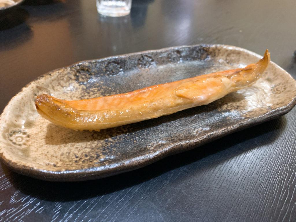 法師人さんの鮭ハラミのスモーク