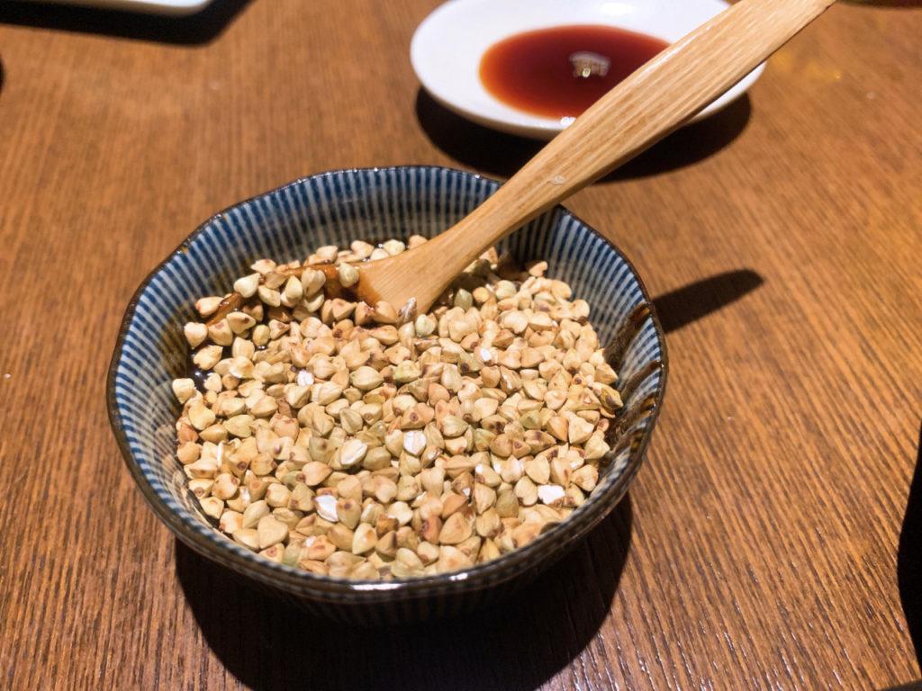 虎徹の蕎麦味噌