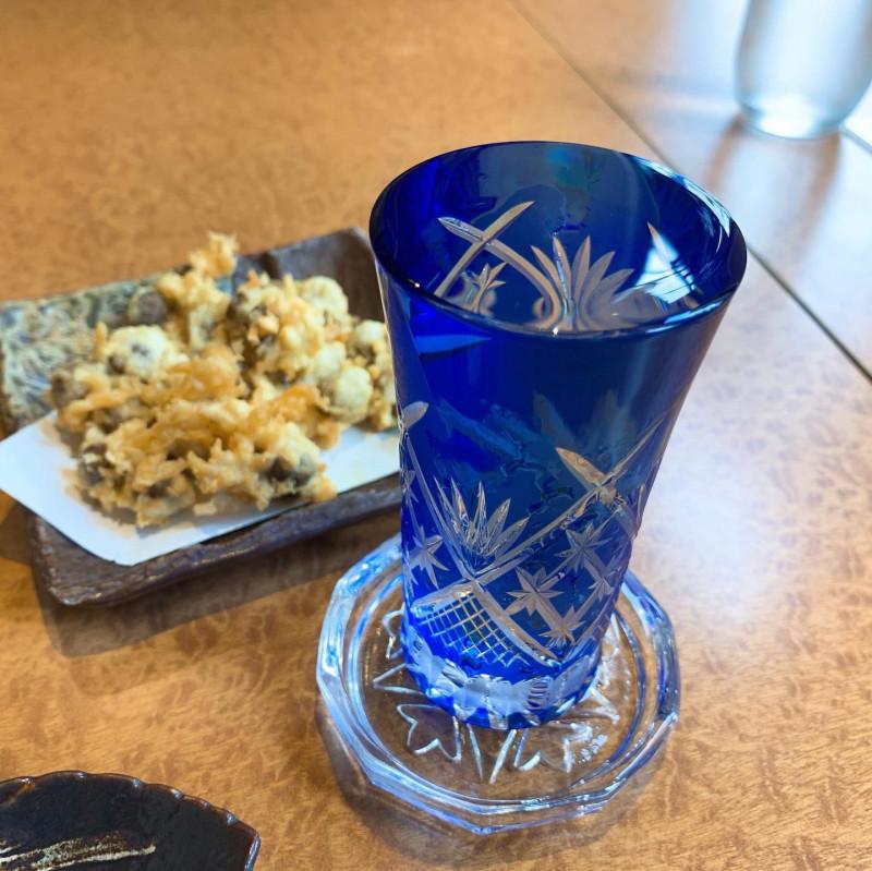手打蕎麦薫屋の日本酒